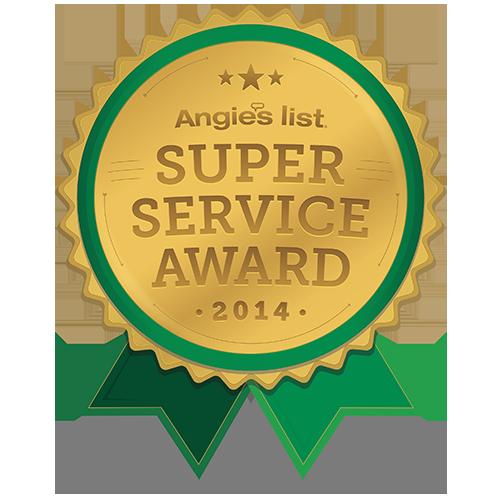 Angie's List - Super Service Award 2014 - Daniel Ganc, MD 500x500